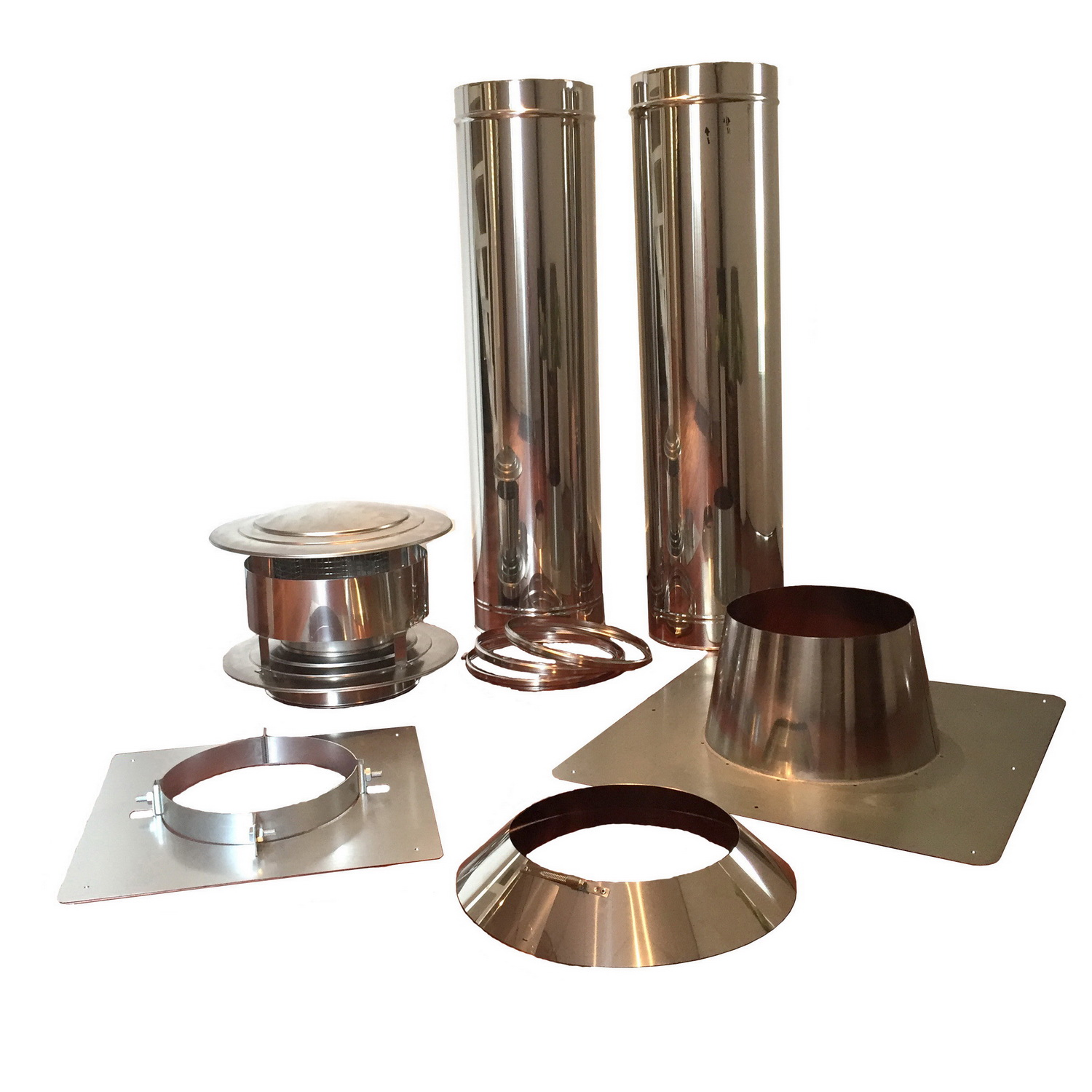 Double Wall Chimney set 150mm
