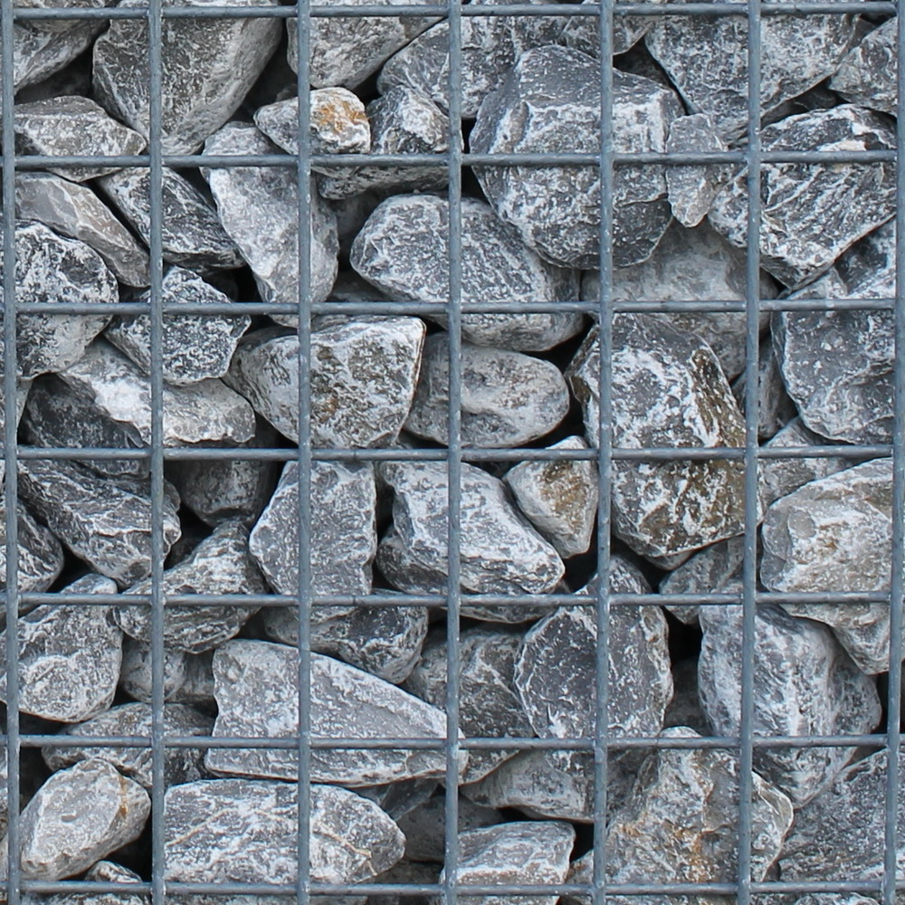 German limestone 40-80mm in Gabion