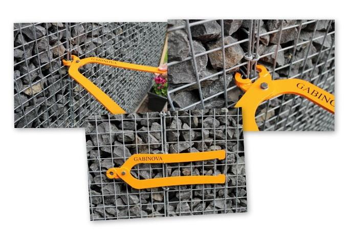 Gabinova C-ring plier