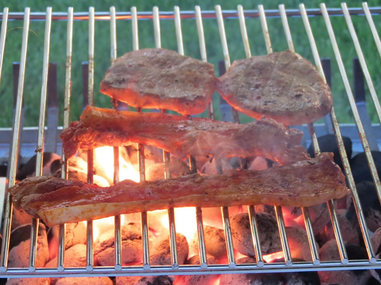 Gabionen Blockkamin Grill
