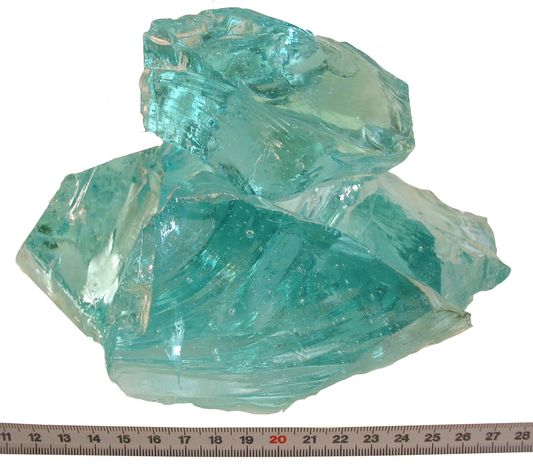 Glass turkoois 80-120mm