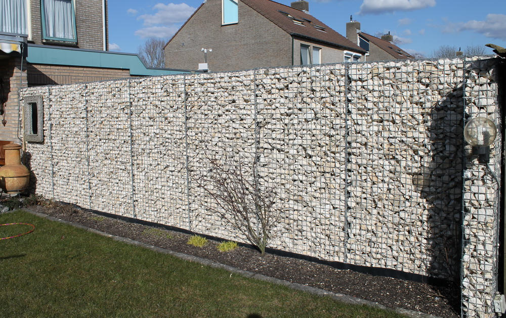 Gabion with Yellow Sun 60-90mm