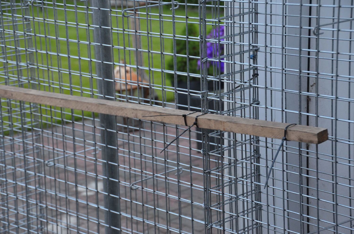 scaffolding pipe for gabions